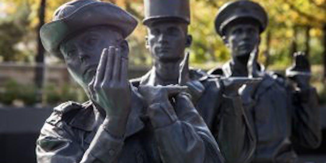Détail du monument en hommage aux soldats morts pour la France en Opex (Ph: Anthony THOMAS-TROPHIME/Min des Armées)