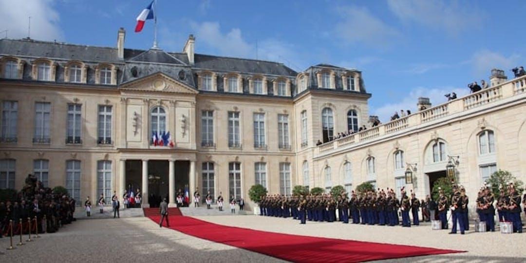La Présidence de l'Elysée (Crédit photo: MG/L'Essor).