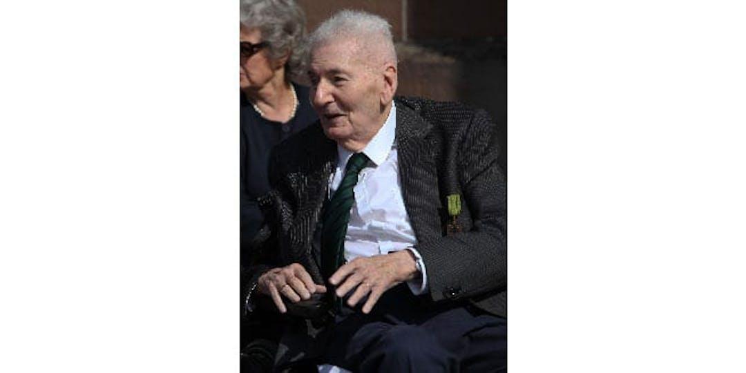 Hubert Germain, dernier Compagnon de la Libération, décédé le mardi 12 octobre à l'âge de 101 ans (Photo: Ordre de de la Libération),