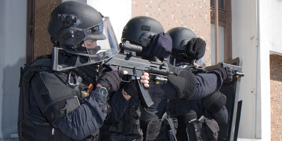 Des gendarmes d'une antenne GIGN (AGIGN) lors d'un exercice. (Photo: Domenjod/WikimediaCommons)