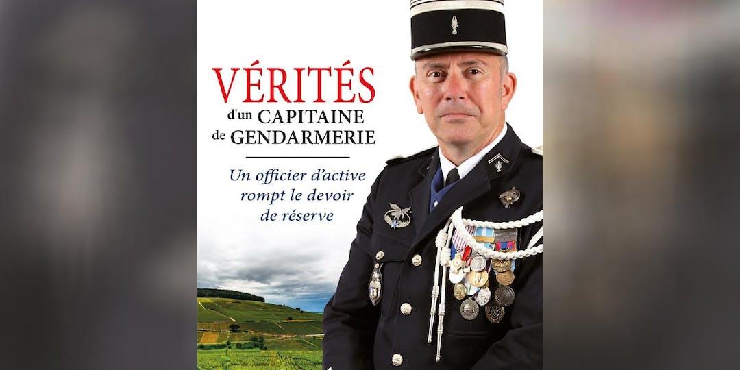 """Plus de 15.000 exemplaires du livre d'Hervé Moreau, """"Vérités d'un capitaine de Gendarmerie"""", ont été vendus en 10 mois. (DR)"""