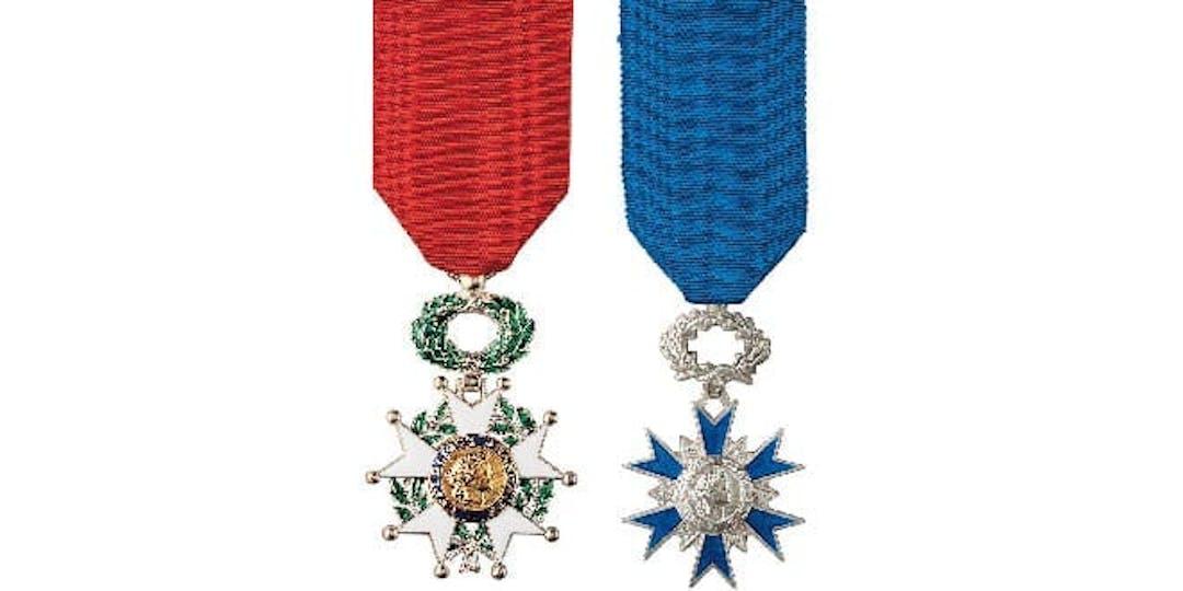 La Légion d'honneur ou l'ordre national du Mérite récompensent près de 160 athlètes français pour leurs médaiiles obtenues lors des jeux Olympiques de Tokyo 2021.