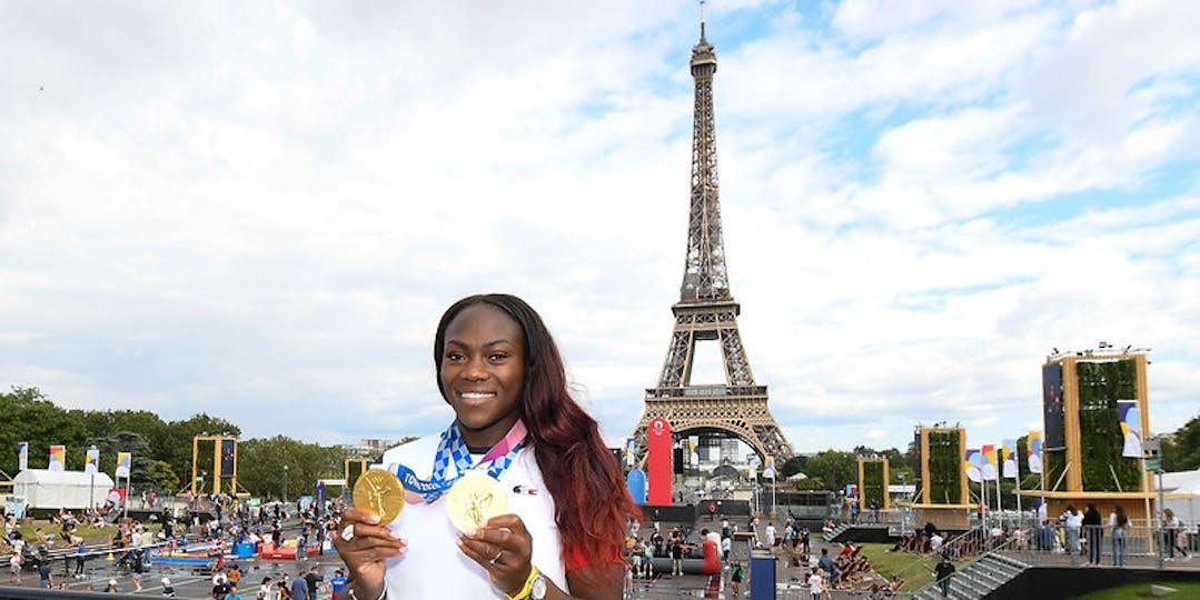 Clarisse Agbégnénou a été la grande dame de ces jeux Olympiques de Tokyo (crédit photo : CNOSF/KMSP)