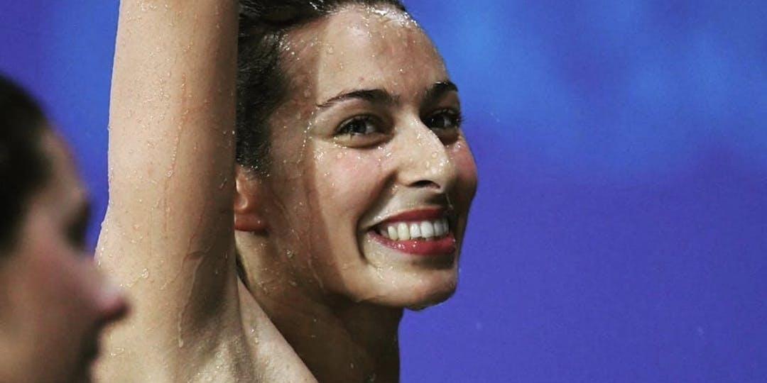 La nageuse et gendarme Fantine Lesaffre dispute ses seconds jeux Olympiques (Photo: DR)