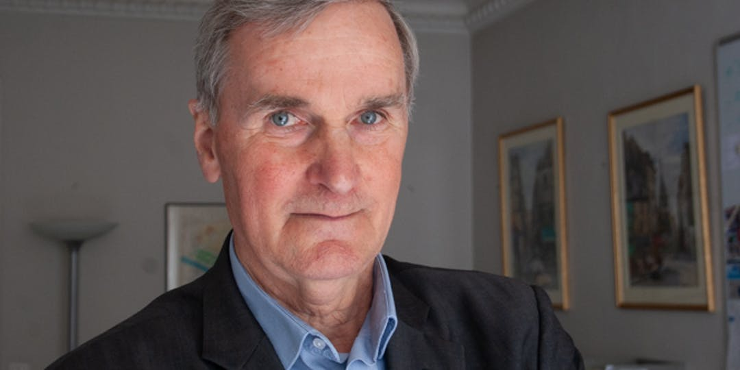 Gérard Sullet en 2015, dans les locaux de L'Essor, rue Bleue. (M.GUYOT/ESSOR)