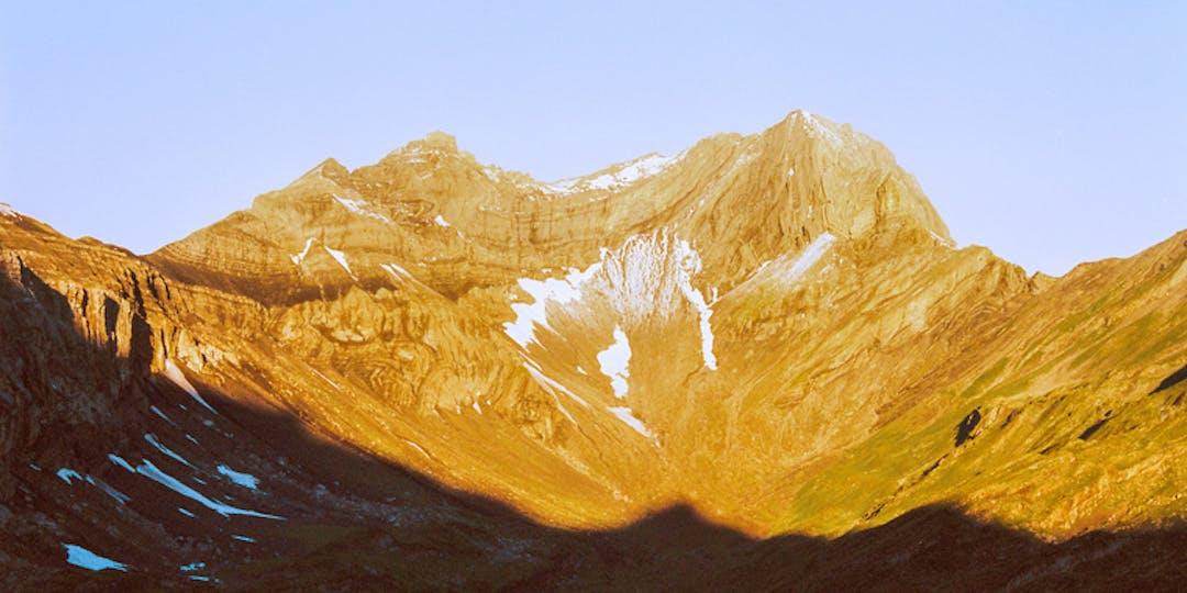 montagne doré