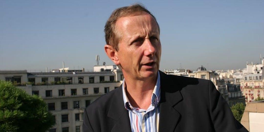 Le colonel (ER) Etienne Sesmat en 2006 à L'Essor (Ph: M/GUYOT/ESSOR).