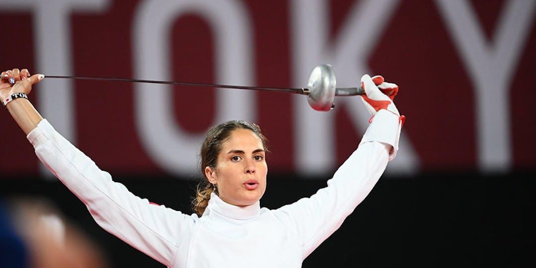 Elodie Clouvel devra réaliser une suite d'épreuve exceptionnelle si elle veut devenir championne olympique (crédit photo : CNOSF/KMSP)