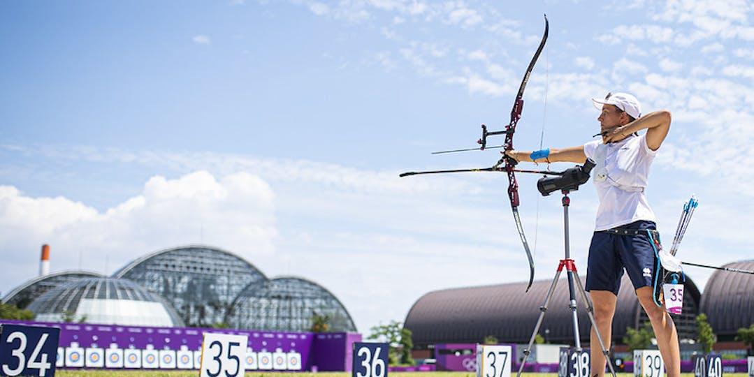 Championne d'Europe en titre, Lisa Barbelin veut aller loin dans la compétition (crédit photo CNOSF/KMSP).