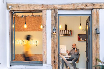 Studio Coworking Gros Horloge Bureaux Dédiés