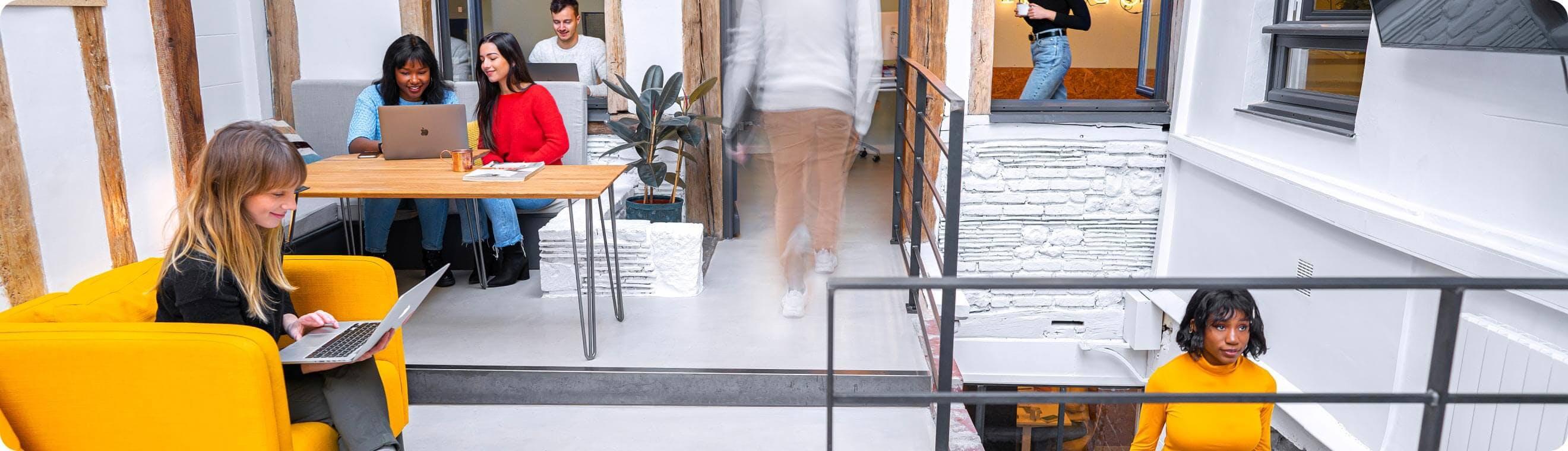 Réservez votre bureaux privés au Studio Coworking à Rouen