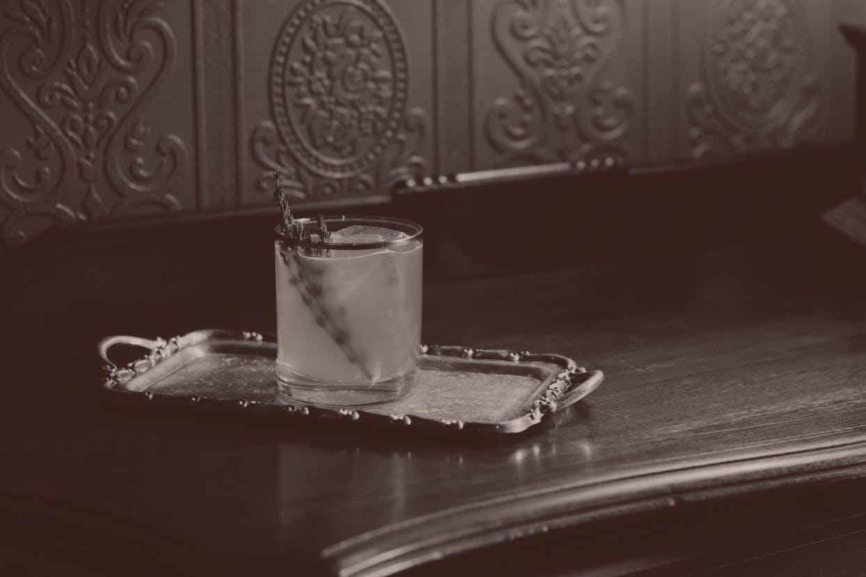 Fancy cocktail.