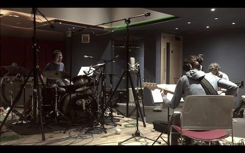 Let Spin in the studio recording Sketch 2019