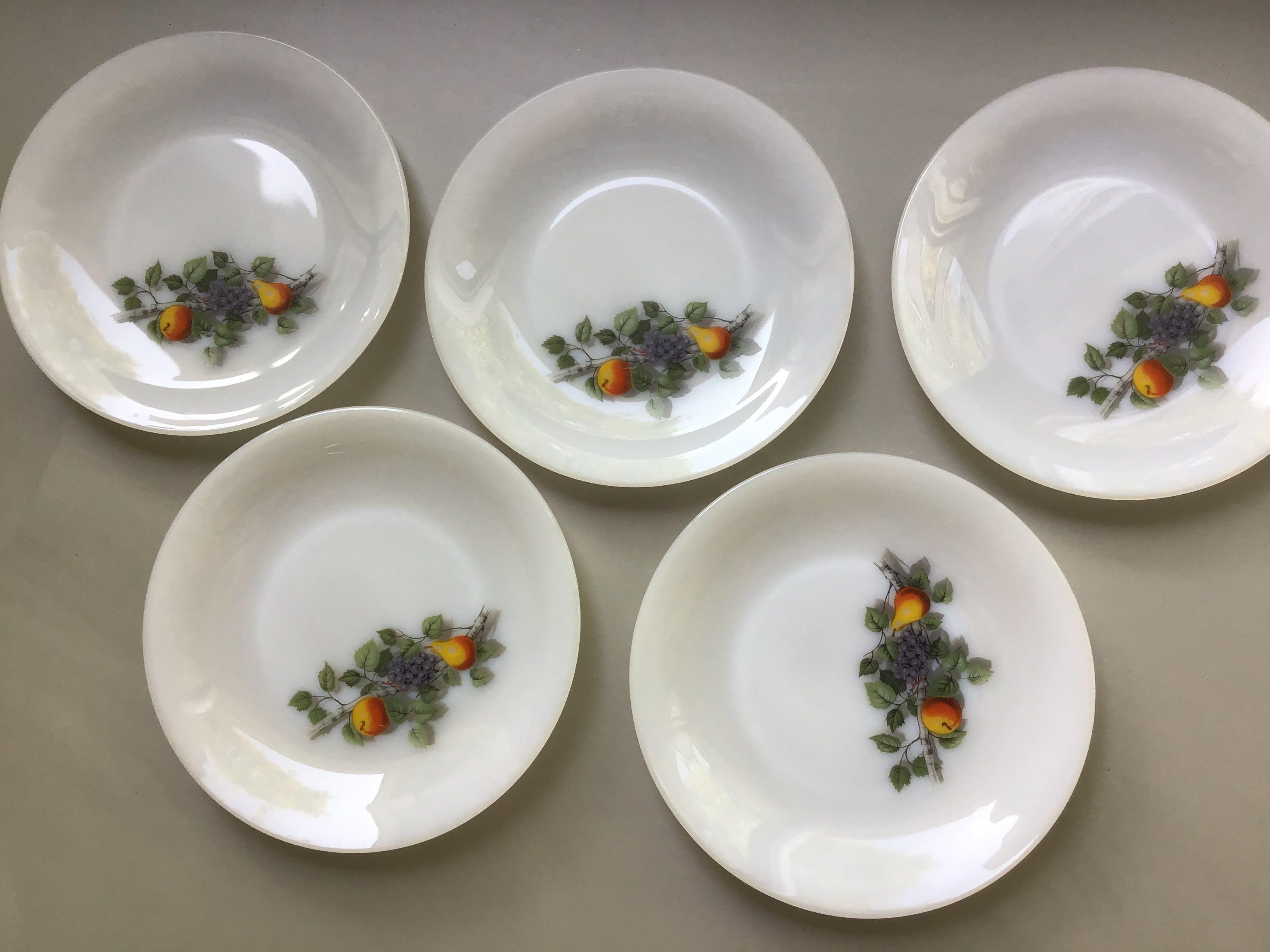 Dinerborden Fruits de France