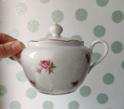 Koffie- thee- of suikerpot