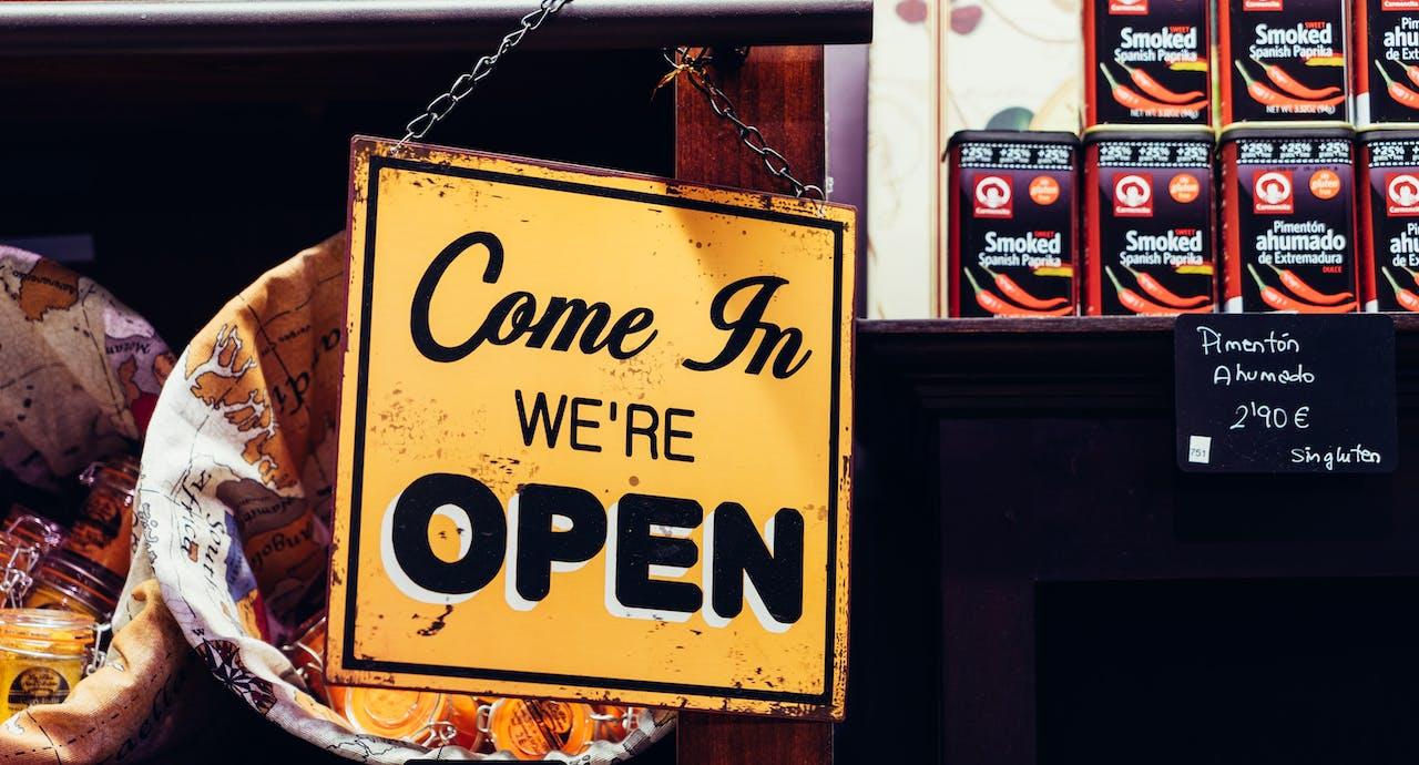 aprire attività commerciale