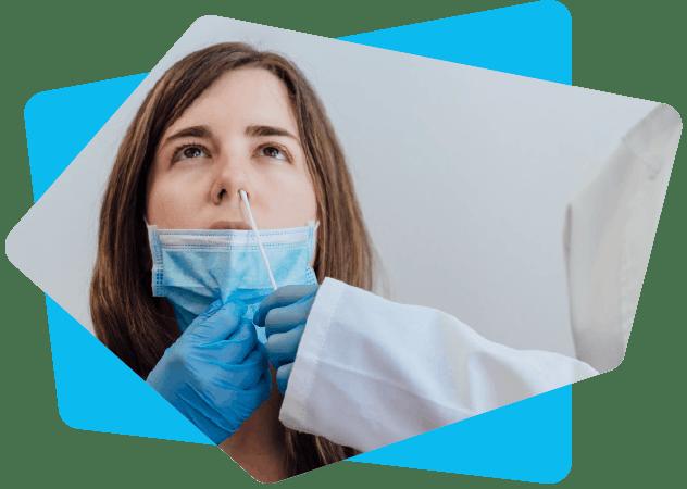 Prélèvement nasopharyngé