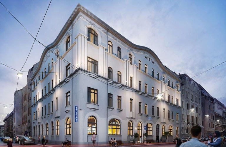 A&O Budapest City street