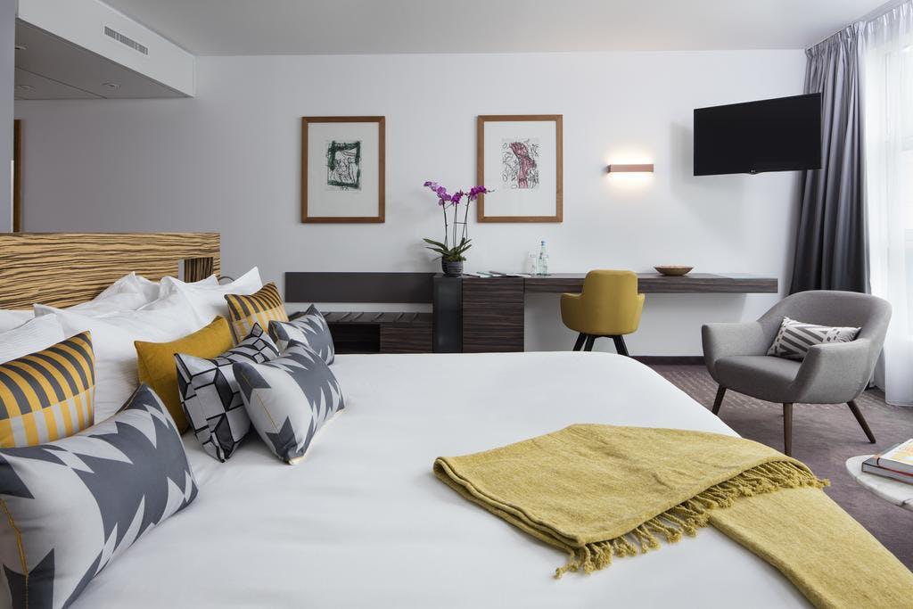 Art'Otel bedroom