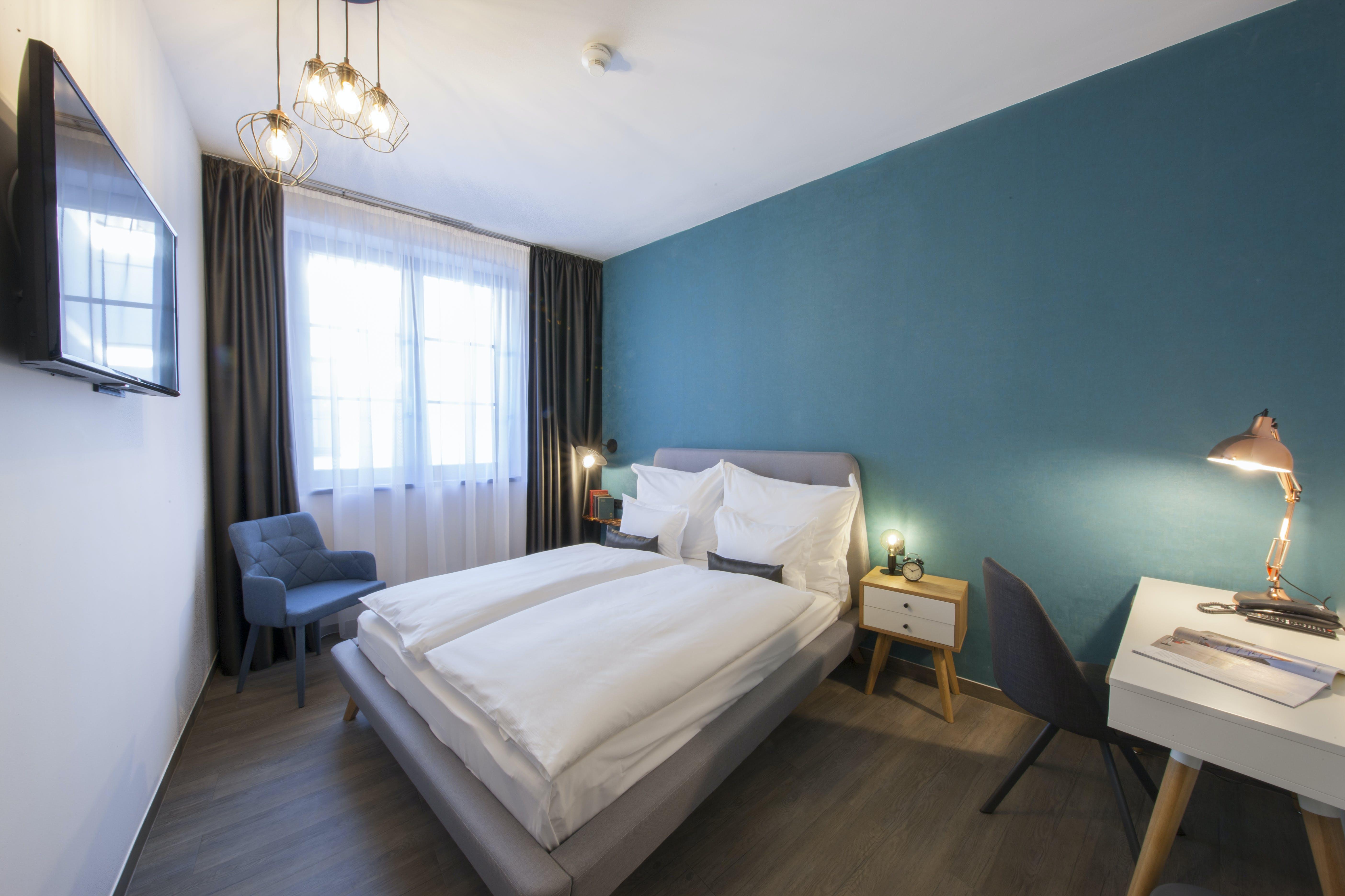 Hotel Memories OldTown Budapest bedroom