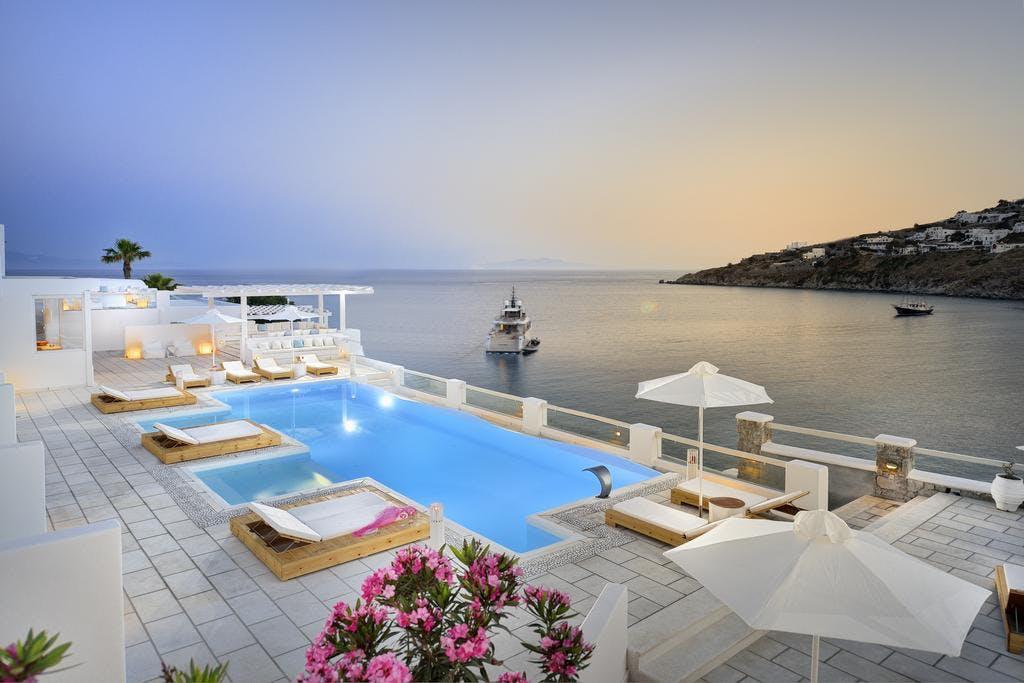 Nissaki Boutique Hotel Pool View