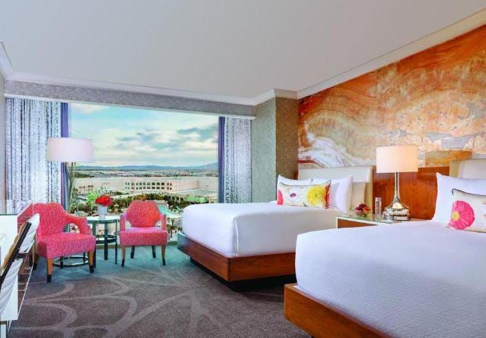 Mandalay Bay Resort & Casino bedroom