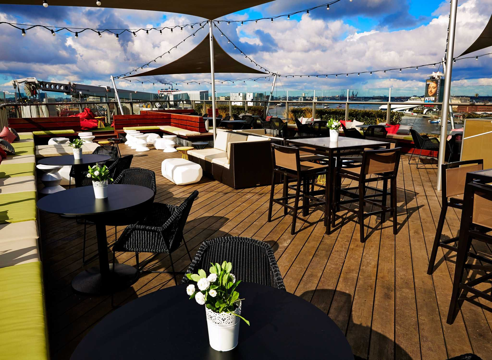 Doubletree by Hilton rooftop