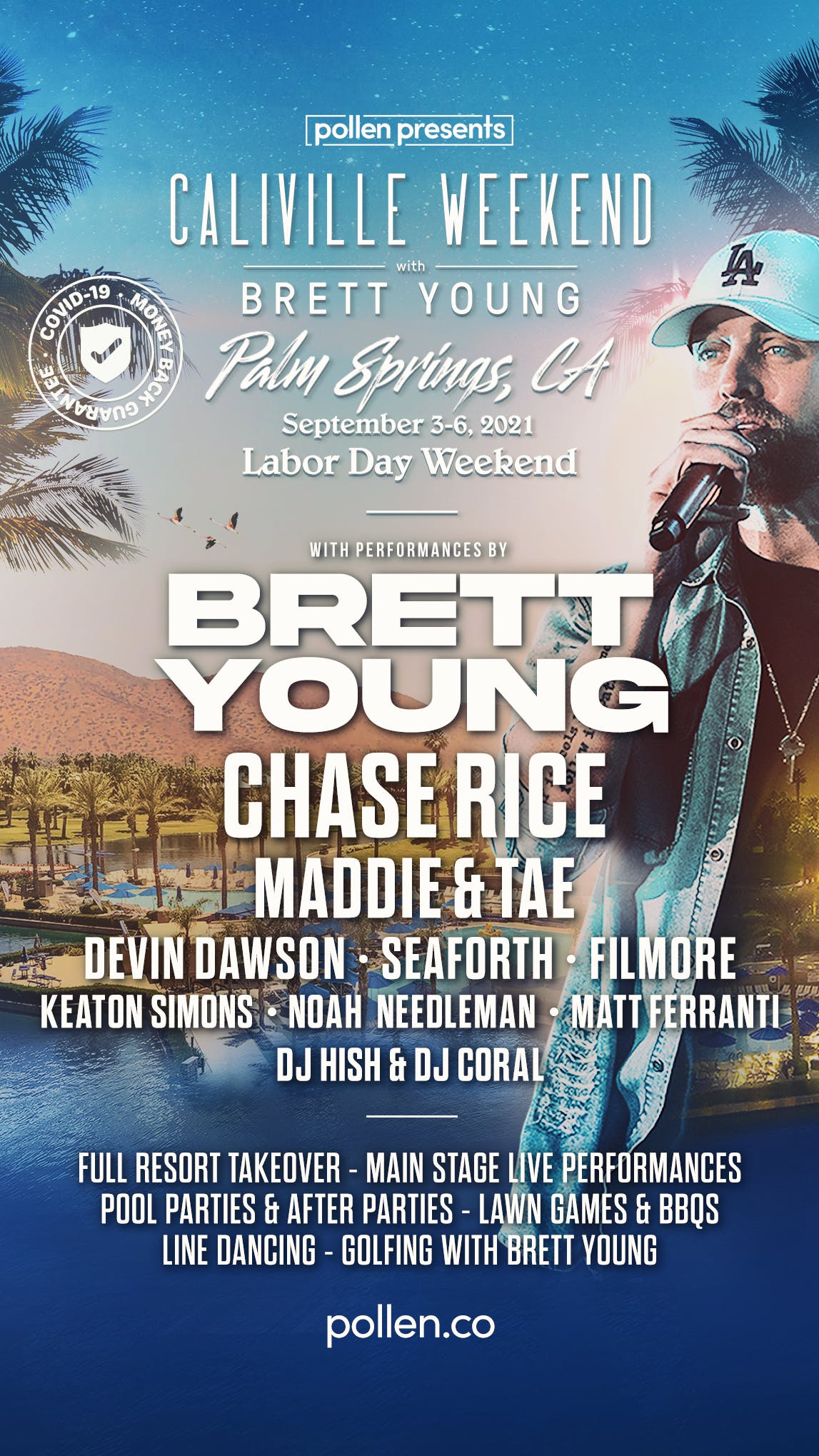 brett young line up