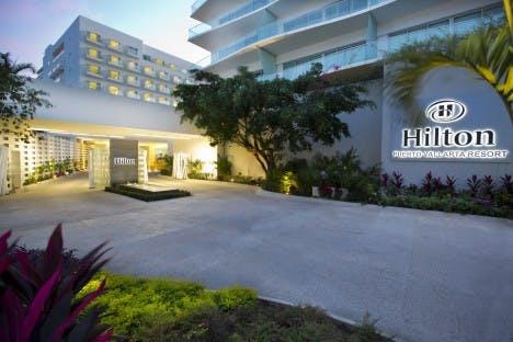 Hilton Puerto Vallarta entrance