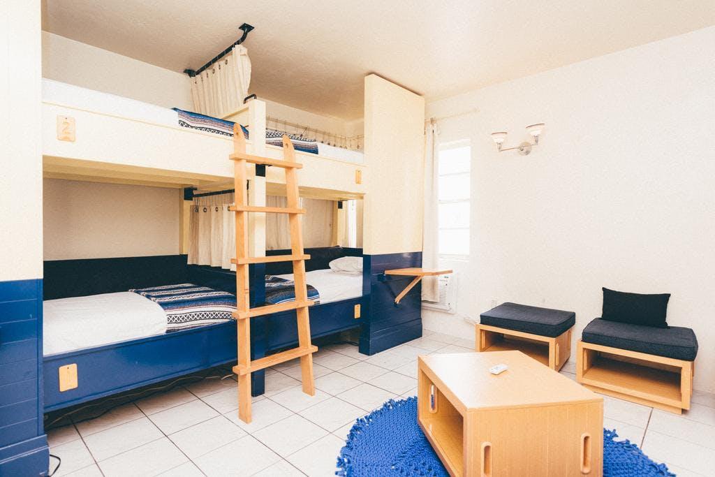 Freehand Miami dorm room