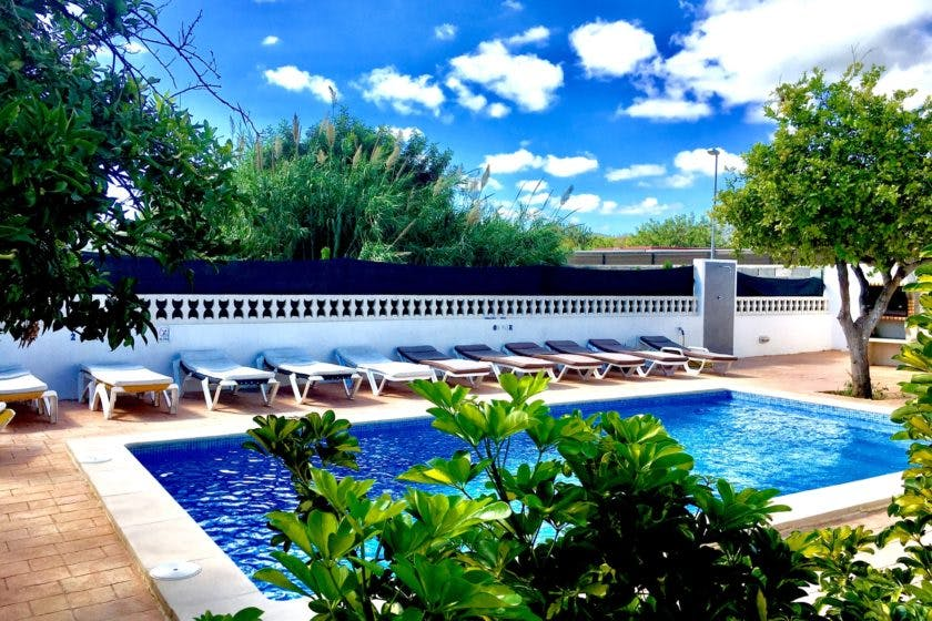 Ibiza Villas 2000 pool area