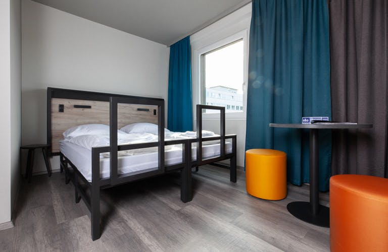 A&O Budapest City bedroom