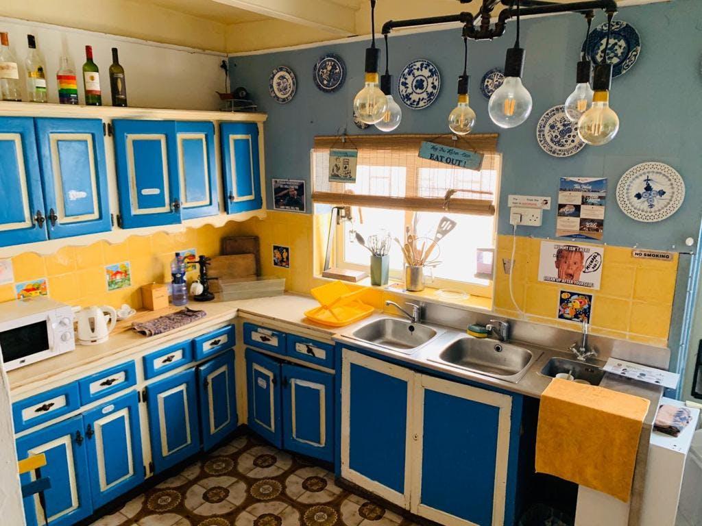 Hostel Malti kitchen