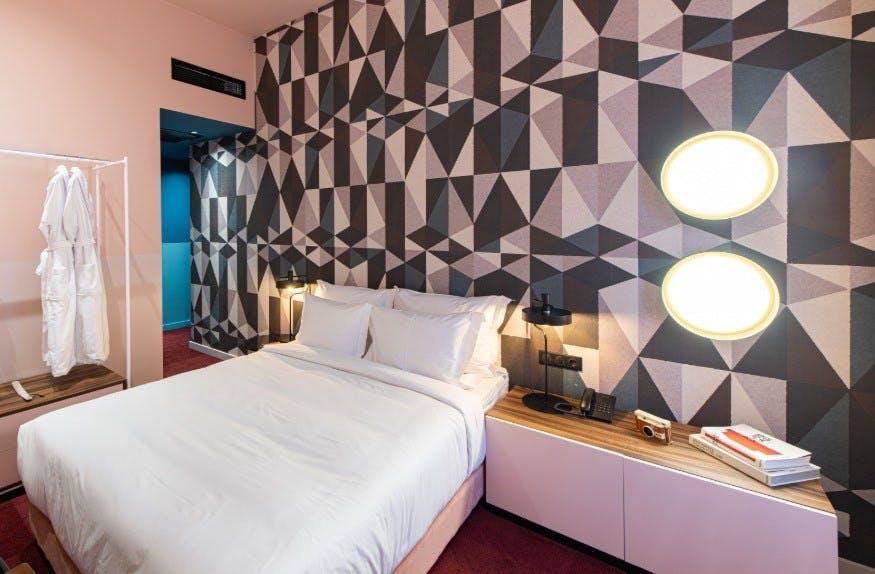 Rocket fuel resort Budapest hotel room