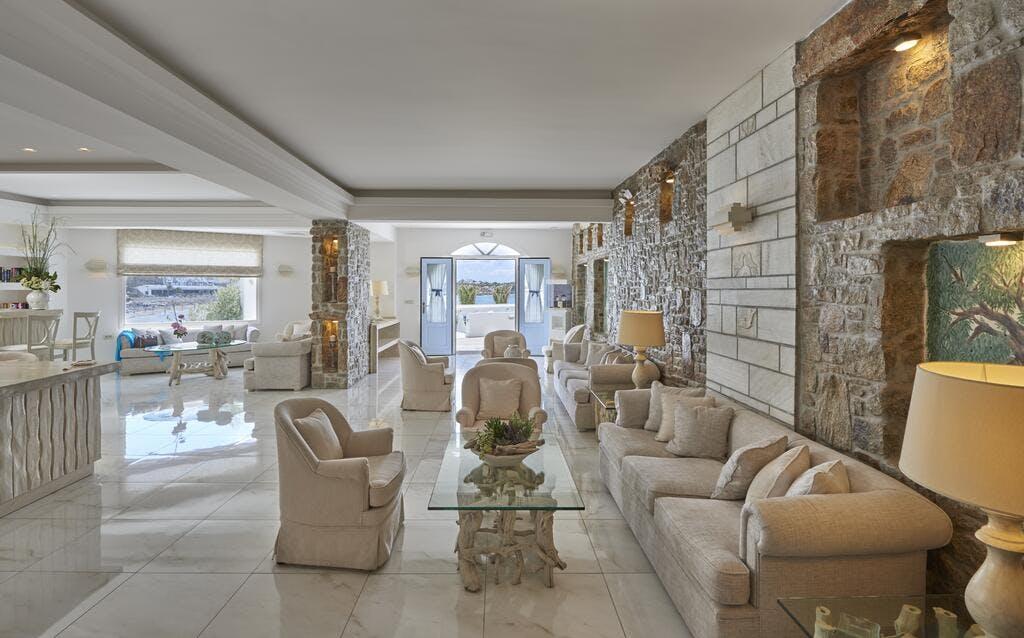 Petinos Beach Hotel Lobby
