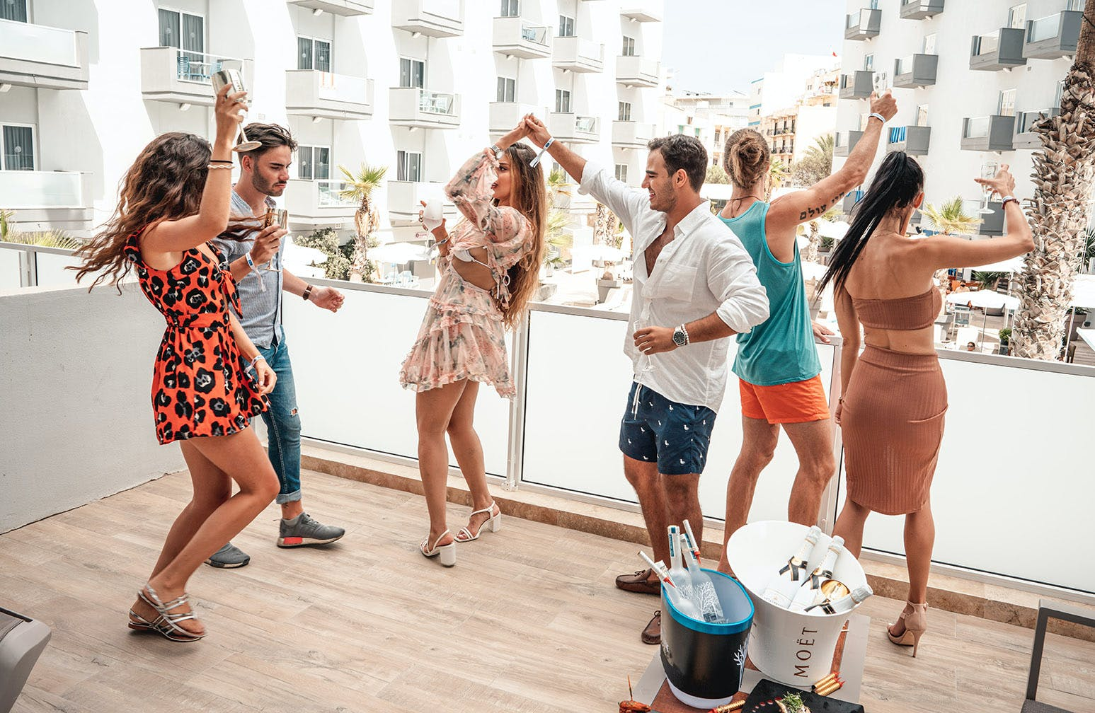Bora Bora Ibiza Beach Resort party room
