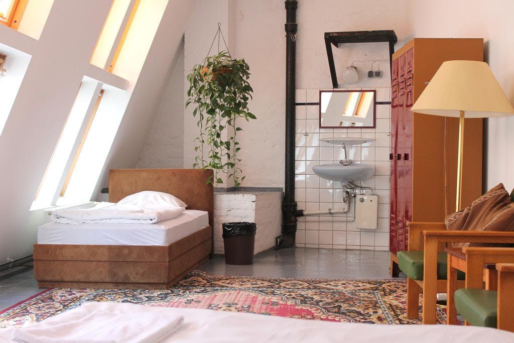 Die Fabrik Hotel bedroom