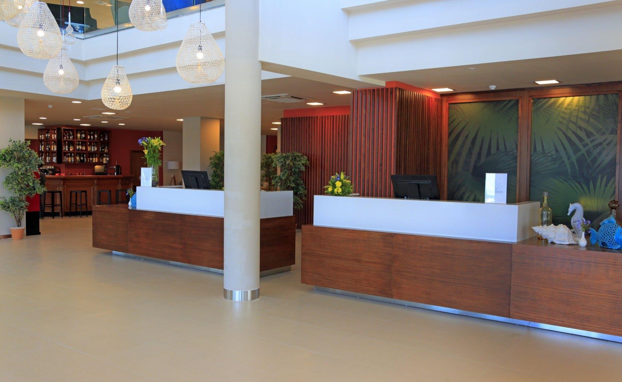 Labranda Riviera hotel and spa reception