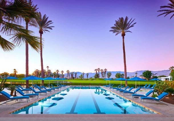 Villas Marriott Palm Springs California Pool
