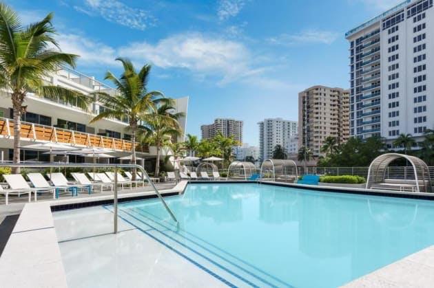 The Gates hotel swimming pool