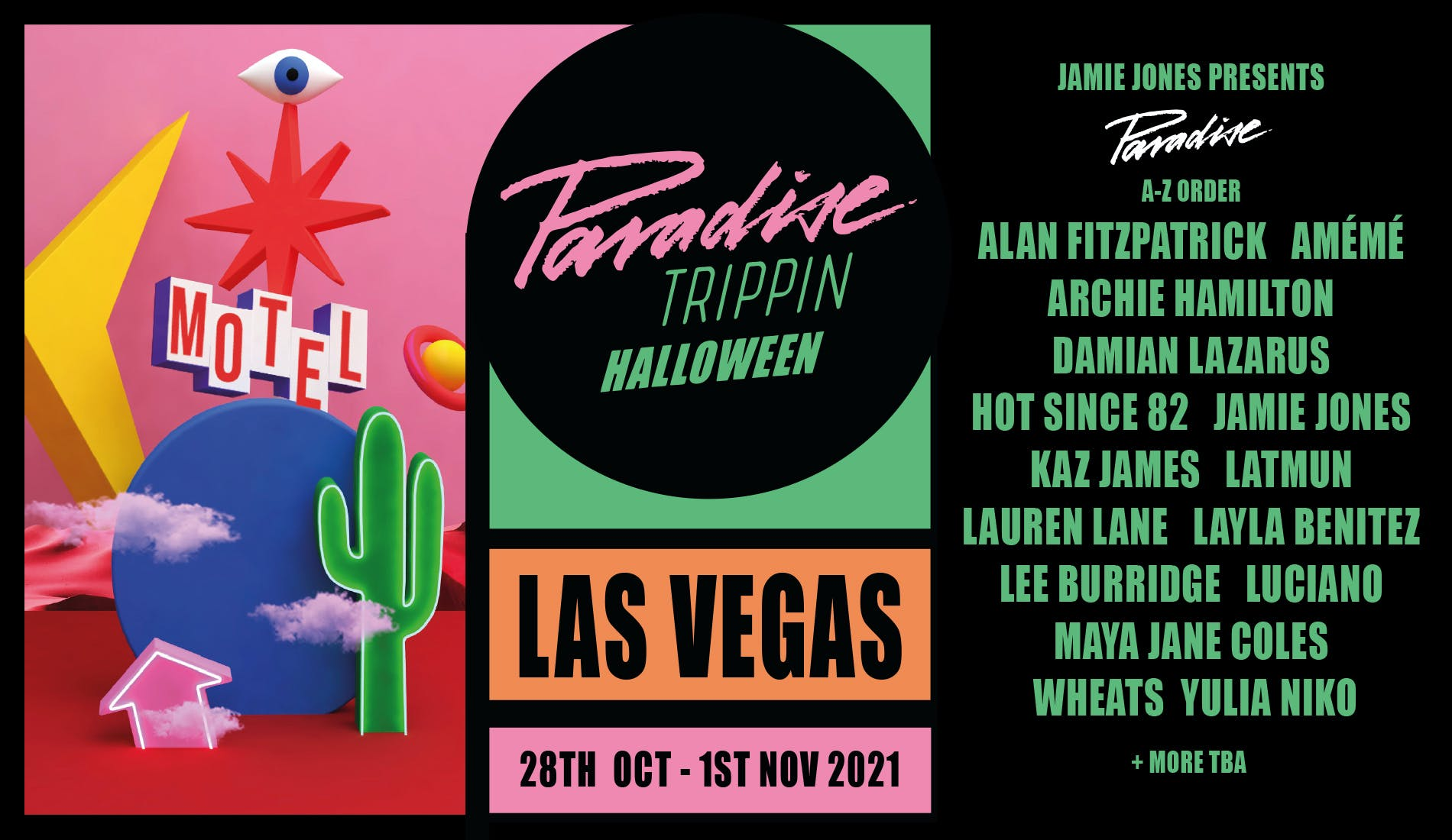 Paradise Vegas banner