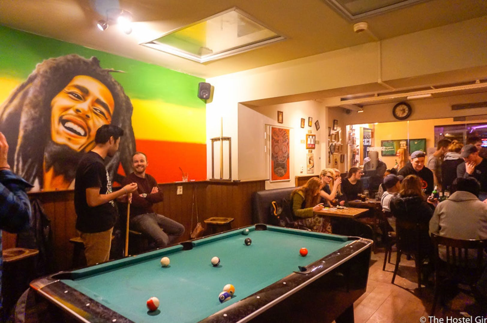 Flying Pig Hostel Uptown games room