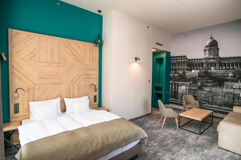 T62 Hotel Budapest bedroom