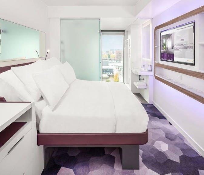 Yotel bedroom