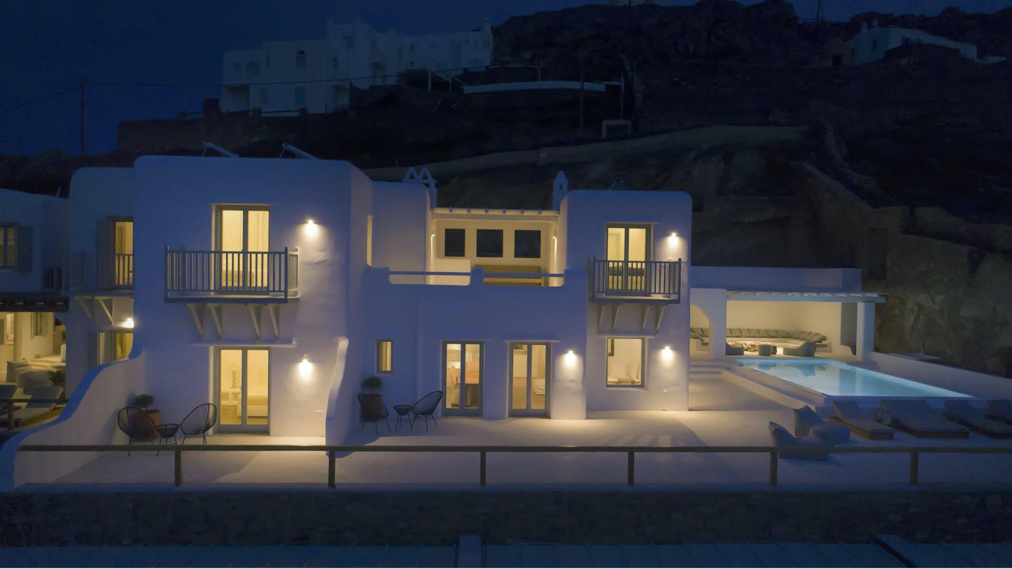 Villa Blue Exterior