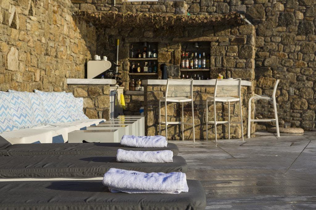 Mykonos Beach Hotel Bar