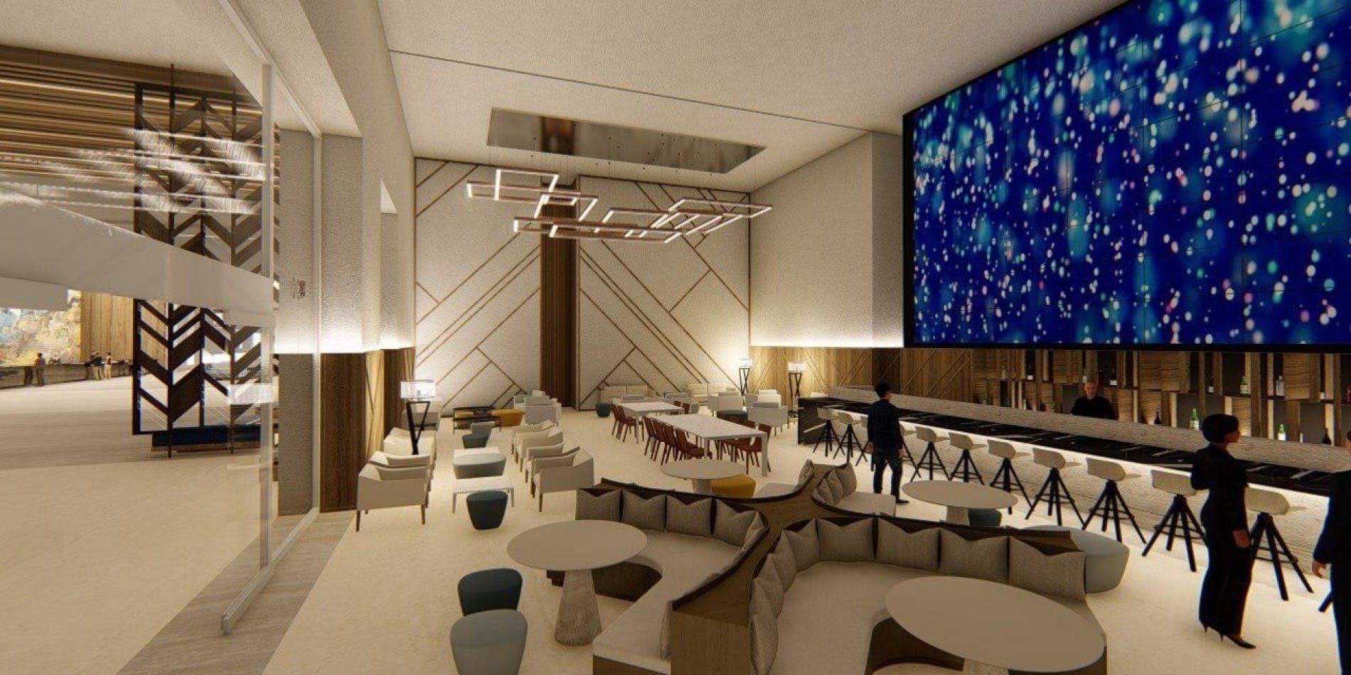 barcelo maya riviera lobby