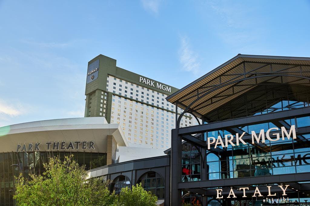 Park MGM outside