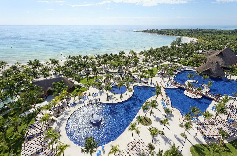 barcelo maya beach exterior