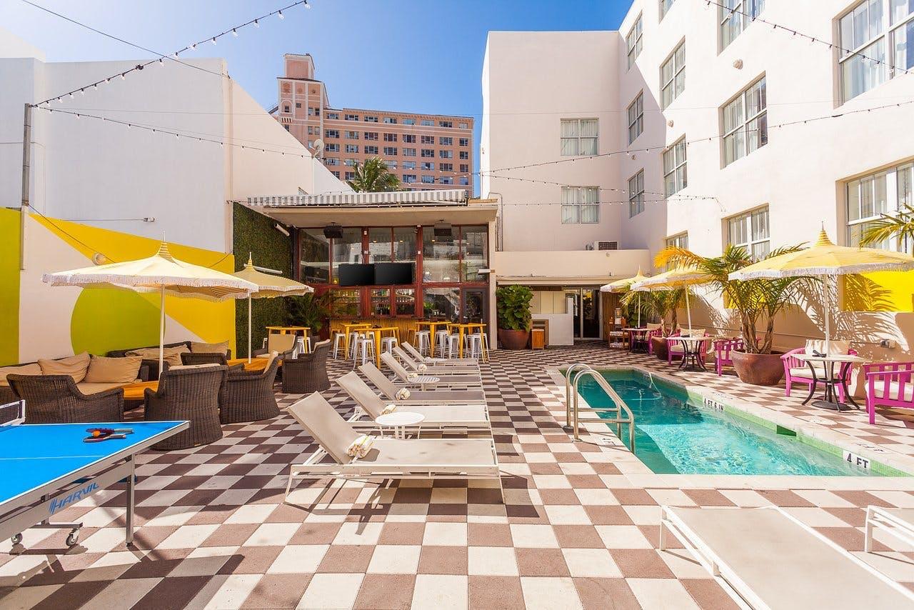Clinton Hotel South Beach Miami Pool